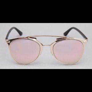 NWOT Le Petit Lunetier Max B. Champagne Sunglasses